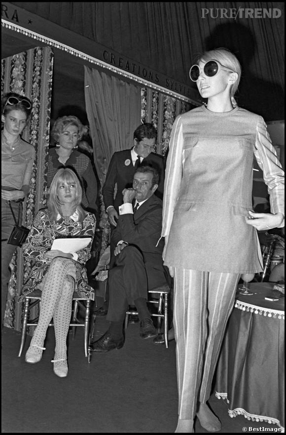 Icône mode, Sylvie Vartan a également lancé sa propre collection en 1968.