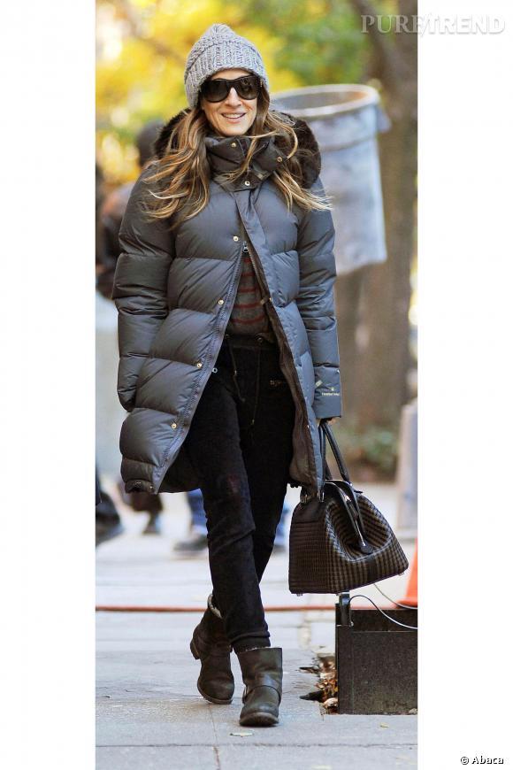 Sarah Jessica Parker, doudoune in the city !