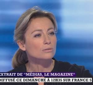 Anne-Sophie Lapix s'explique sur le clash Laurent Baffie/Jérémy Michalak lors de l'émission Médias le magazine sur France 5.