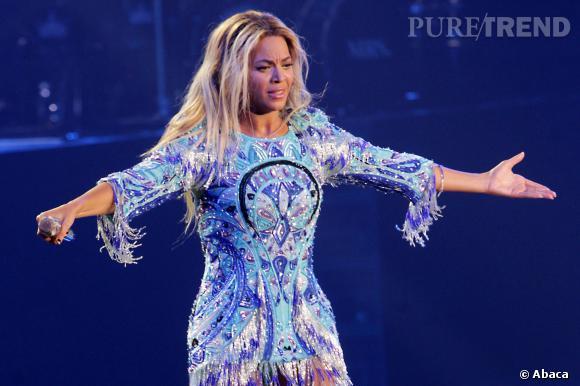 Beyoncé sur scène, une star généreuse dans tous les sens du terme.