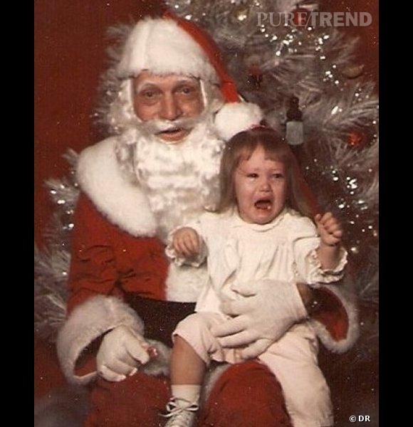 Les enfants qui pleurent avec le père noël : le vilain cauchemar.