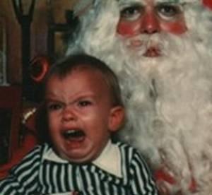 Top 30 des enfants traumatisés par le Père Noël