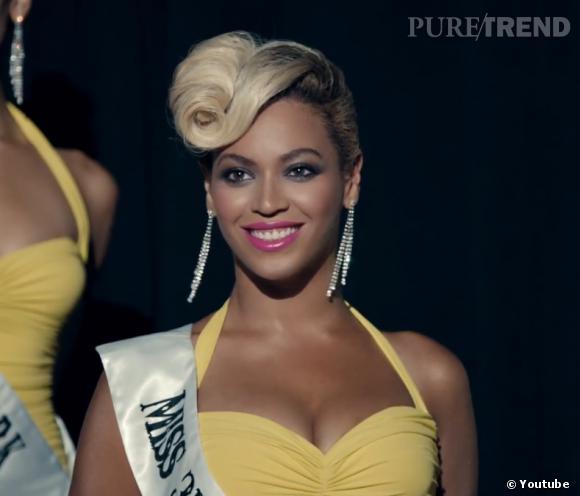 """Dans """"Pretty Hurts"""", Beyoncé joue les reines de beauté."""