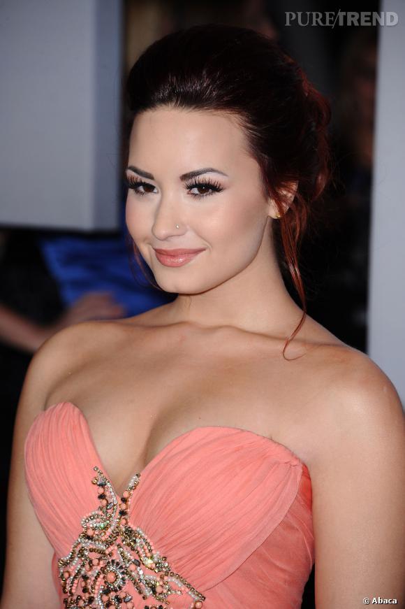 Demi Lovato, le piercing sur la narine, c'est ringard.