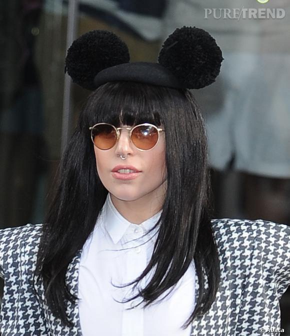 Lady Gaga s'est fait poser un piercing au septum.