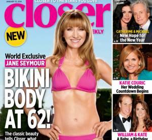 Jane Seymour, en bikini à 62 ans... bluffante et sexy !