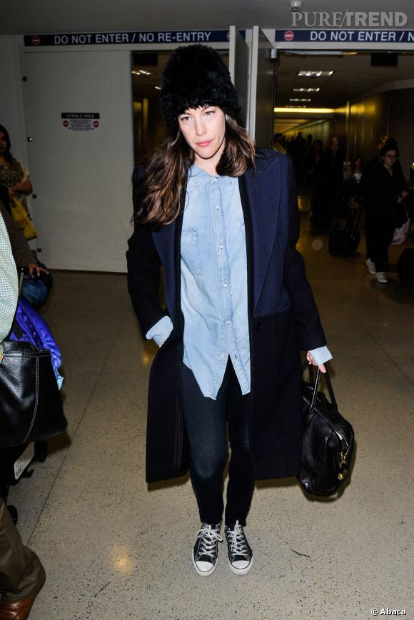 Liv Tyler, le chic new-yorkais.