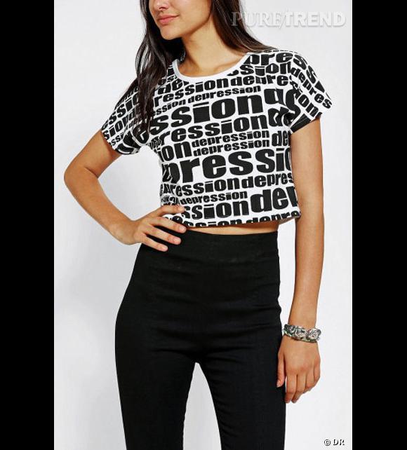 """Urban Outfitters et son t-shirt """"depression"""" au centre d'une polémique."""