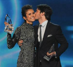 Nina Dobrev et Ian Somerhalder, drôle de rupture aux People's Choice Awards 2014