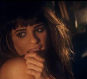 """Lea Michele dans son clip """"Cannonball""""."""