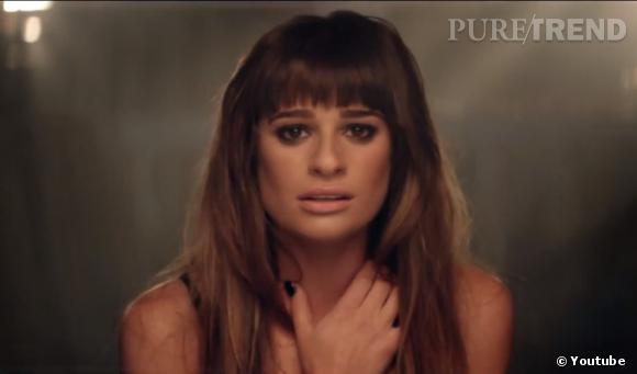 """Lea Michele a dévoilé son tout premier clip """"Cannonball"""", réalisé par Robert Hales."""