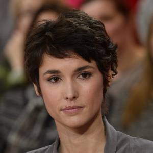 "Eglantine Emeyé assure la promotion de son documentaire, ""Mon fils, un si long combat""."