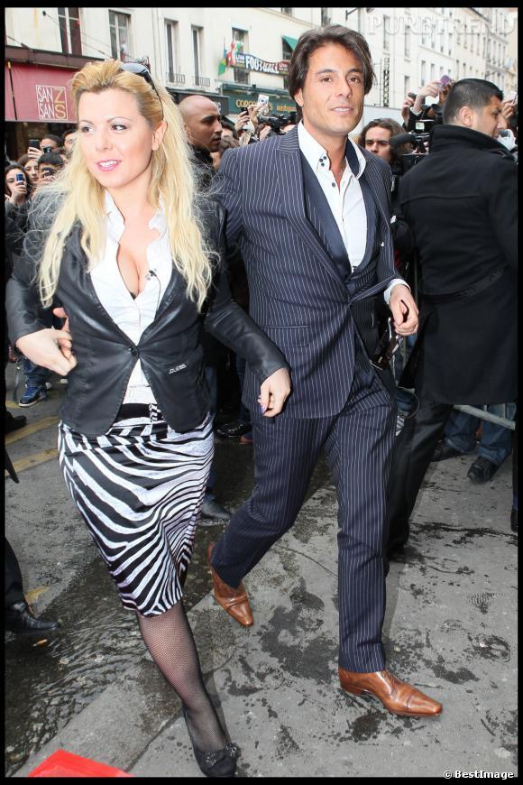 Giuseppe et son ex, Cindy.