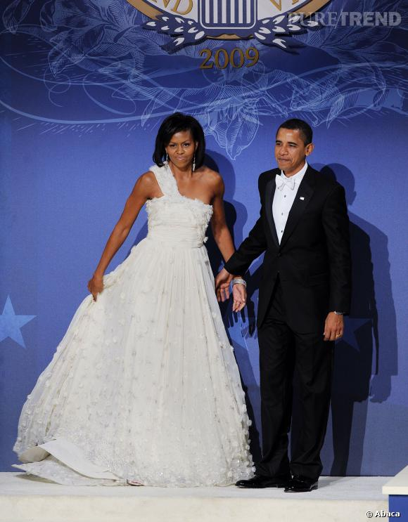 Michelle Obama en sublime robe Jason Wu.