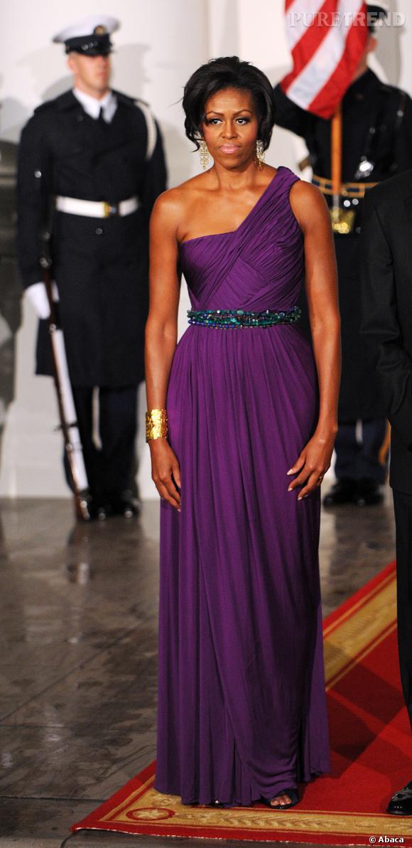 Michelle Obama en longue robe Doo.Ri.