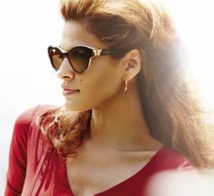 Eva Mendes : sex-appeal et élégance pour Vogue Eyewear PE 2014