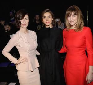 Paz Vega, Marie-Josée Croze et Clotilde Courau, trio tricolore chez Elie Saab.