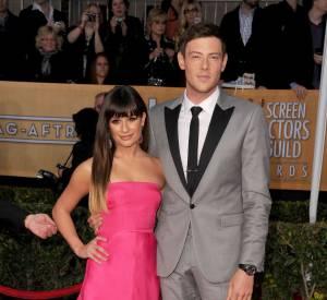 Lea Michele et Cory Monteith aux Screen Actors Guild Awards 2013.