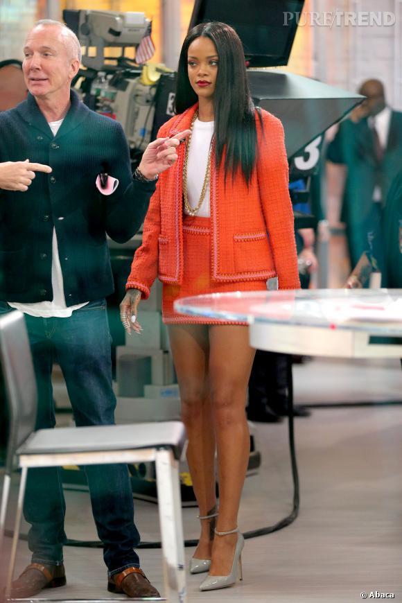 Rihanna prête pour la Maison Blanche avec sa tenue BCBG ?
