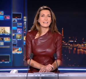 """Anne-Claire Coudray et l'incident """"tétons"""" sur TF1 : on ne l'y reprendra pas !"""