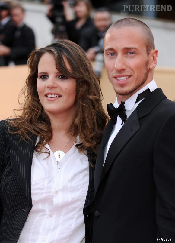 Laure Manaudou et son ex-compagnon le nageur Frédérick Bousquet.