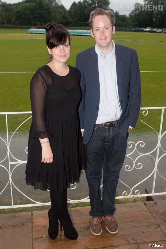 """Lily Allen et Sam Cooper se sont dit """"oui"""" en juin 2011."""