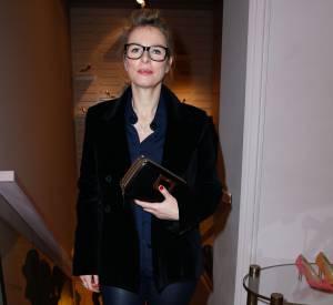 Karin Viard, le style tout simplement chez Roger Vivier.