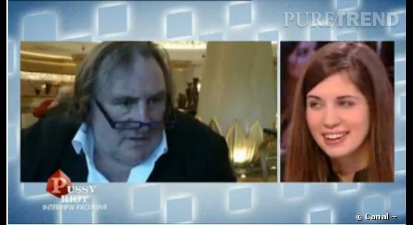 Les Pussy Riot Maria Alekhina et Nadejda Tolokonnikova répondent aux attaques de Gérard Depardieu.