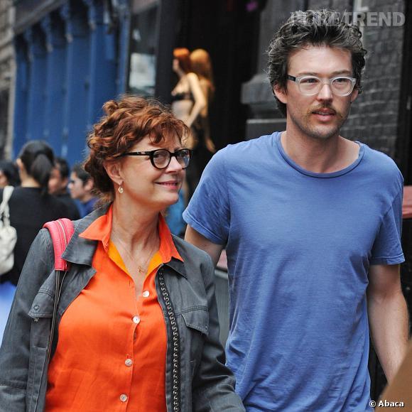 Susan Sarandon, 67 ans, et son petit copain de 36 ans, Jonathan..