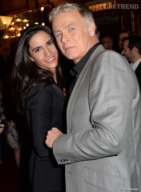Franck Dubosc et son épouse Danièle, couple amoureux pour le film Fiston.