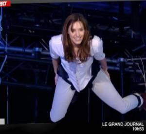 Doria Tillier : la Miss Météo de Canal plane pendant le Grand Journal
