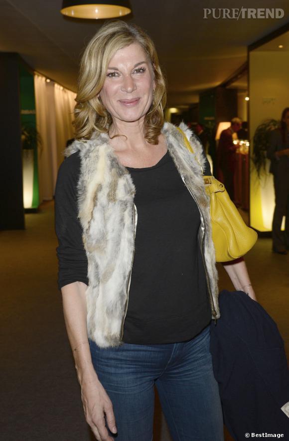 Michèle Laroque, membre historique de la troupe des Enfoirés.