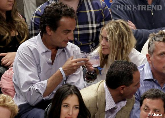 Mary-Kate Olsen, 27 ans craque pour Olivier Sarkozy, 44 ans.