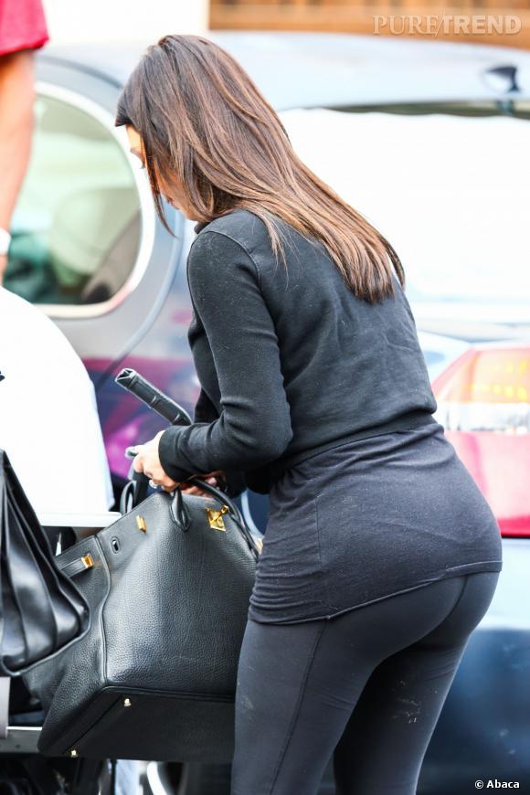 Kim Kardashian aimerait qu'on laisse son popotin tranquille.