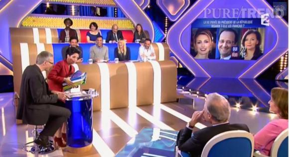 Laurent Ruquier faisait une première émission très convaincante avec Florence Foresti, le 20 janvier 2014.