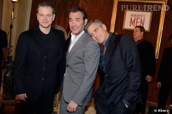"""Matt Damon l'affirme : """"George Clooney a le cerveau d'un gamin de 10 ans""""."""