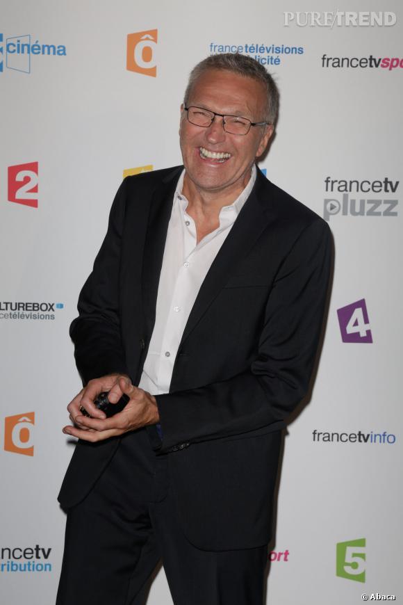 Laurent Ruquier révèle ses aspirations au micro de Morandini sur Europe 1, le 24 février 2014.