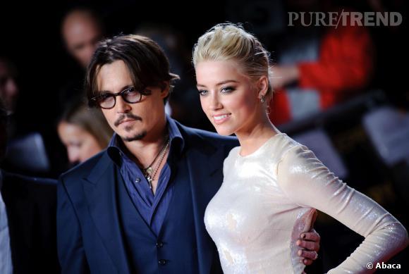 Johnny Depp et Amber Heard, la première tourmente du couple ?