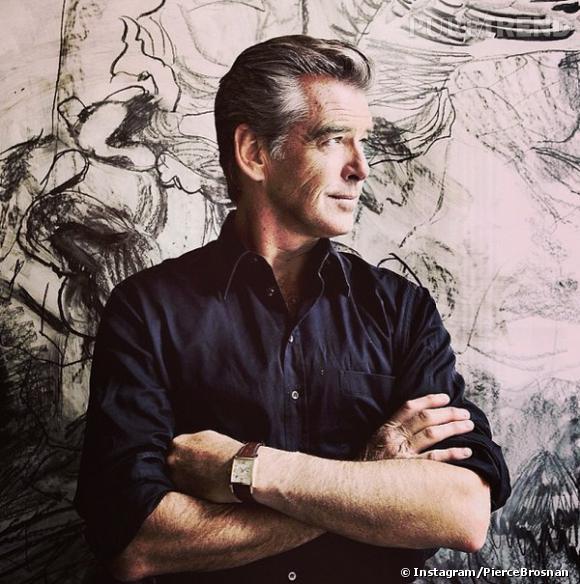 L'ancien double agent secret 007 Pierce Brosnan, encore plus sexy avec l'âge (60 ans).