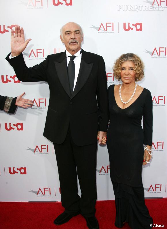 Sean Connery en pleine forme a 83 ans.