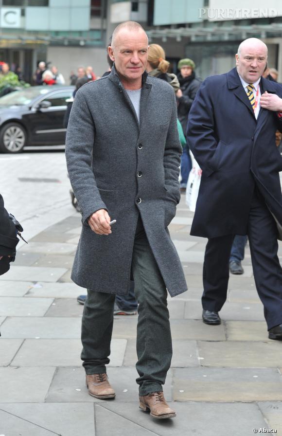 Sting, 62 ans et toujours aussi séduisant.