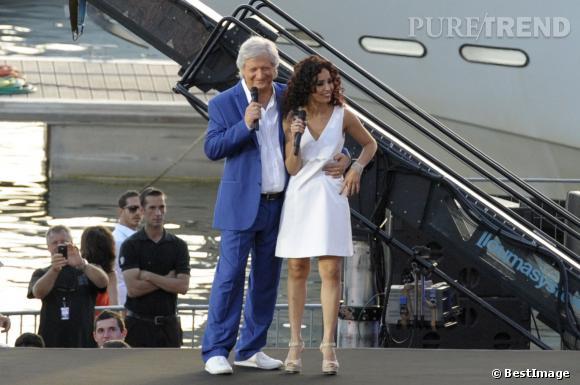 Patrick Sébastien avait crée la polémique lors de la Fête de la Musique 2013 en faisant une remarque sur la robe d'Aïda Touihri. Espérons qu'il n'y aura pas un nouveau dérapage !