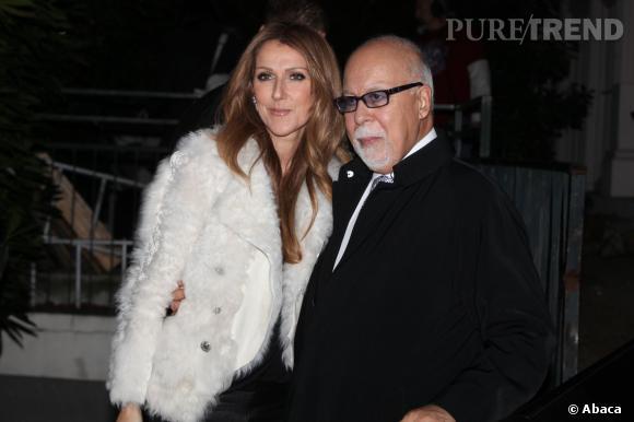Céline Dion et René, très complices lors de leur venue en France en novembre dernier.