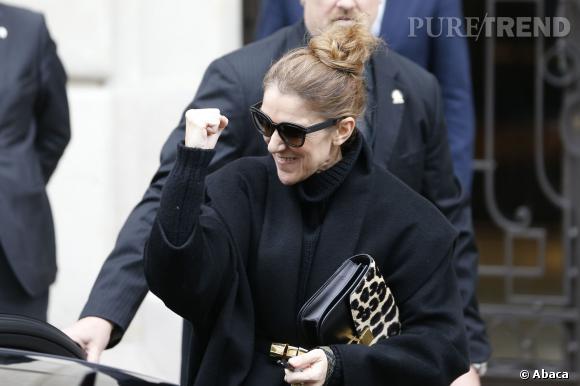 Céline Dion est d'un optimisme incroyable, elle joue un rôle important auprès de René pour sa guérison.