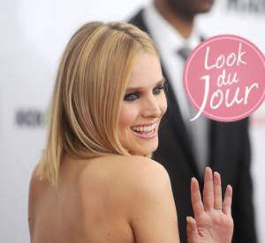 "Kristen Bell lors de l'avant-première du film ""Veronica Mars"" à New York, lundi 10 mars 2014."