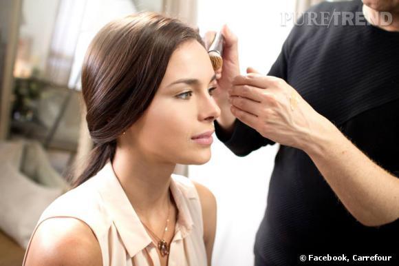 Marine Lorphelin prête son charisme et son image d'ex-Miss France 2013 à Carrefour pour une collaboration beauté.
