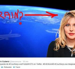 Courtney Love : la honte du web depuis son implication dans le vol MH370