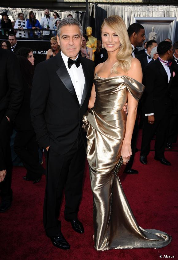 George Clooney était en couple avec Stacy Keibler avant de tomber amoureux d'Amal  Alamuddin.