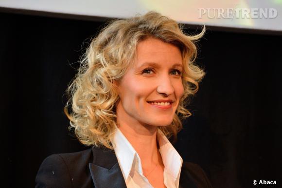 Alexandra Lamy, actrice, comédienne mais surtout, mère.