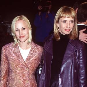 Rosanna et Patricia Arquette à Los Angeles en 1999.
